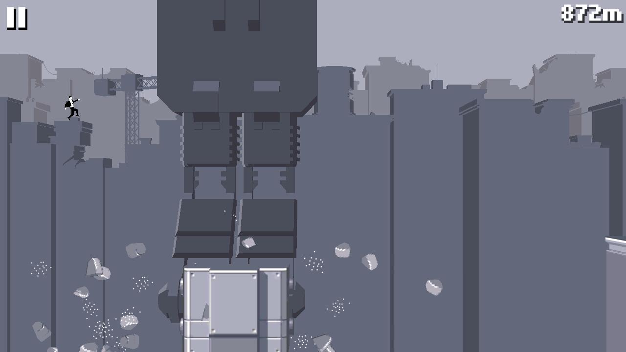 Canabalt HD screenshot