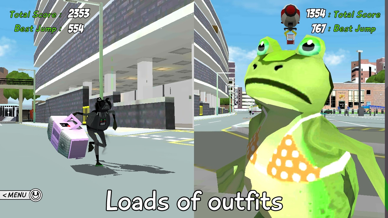 Amazing Frog? The Swindon Space Program screenshot
