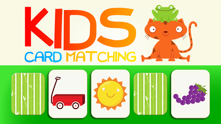 Kids Color and Shape Card Matching