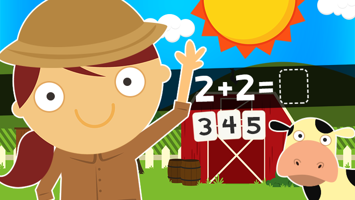 123 Animal Math Games for Kids