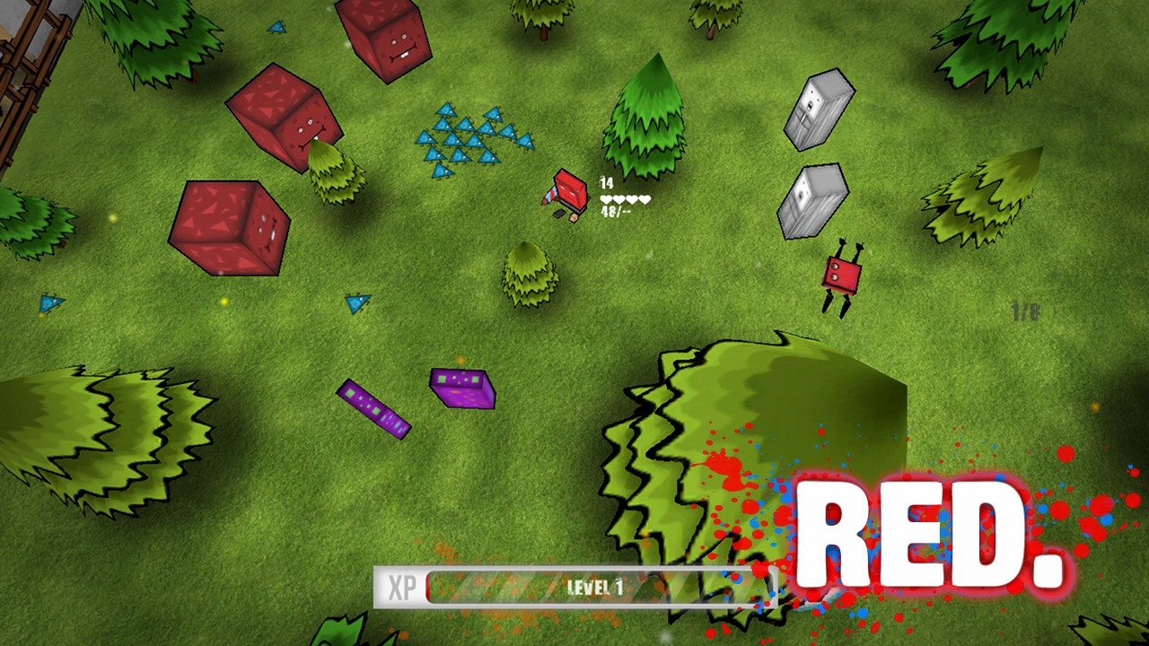 Red screenshot