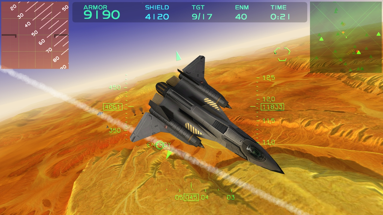 Fractal Combat X screenshot