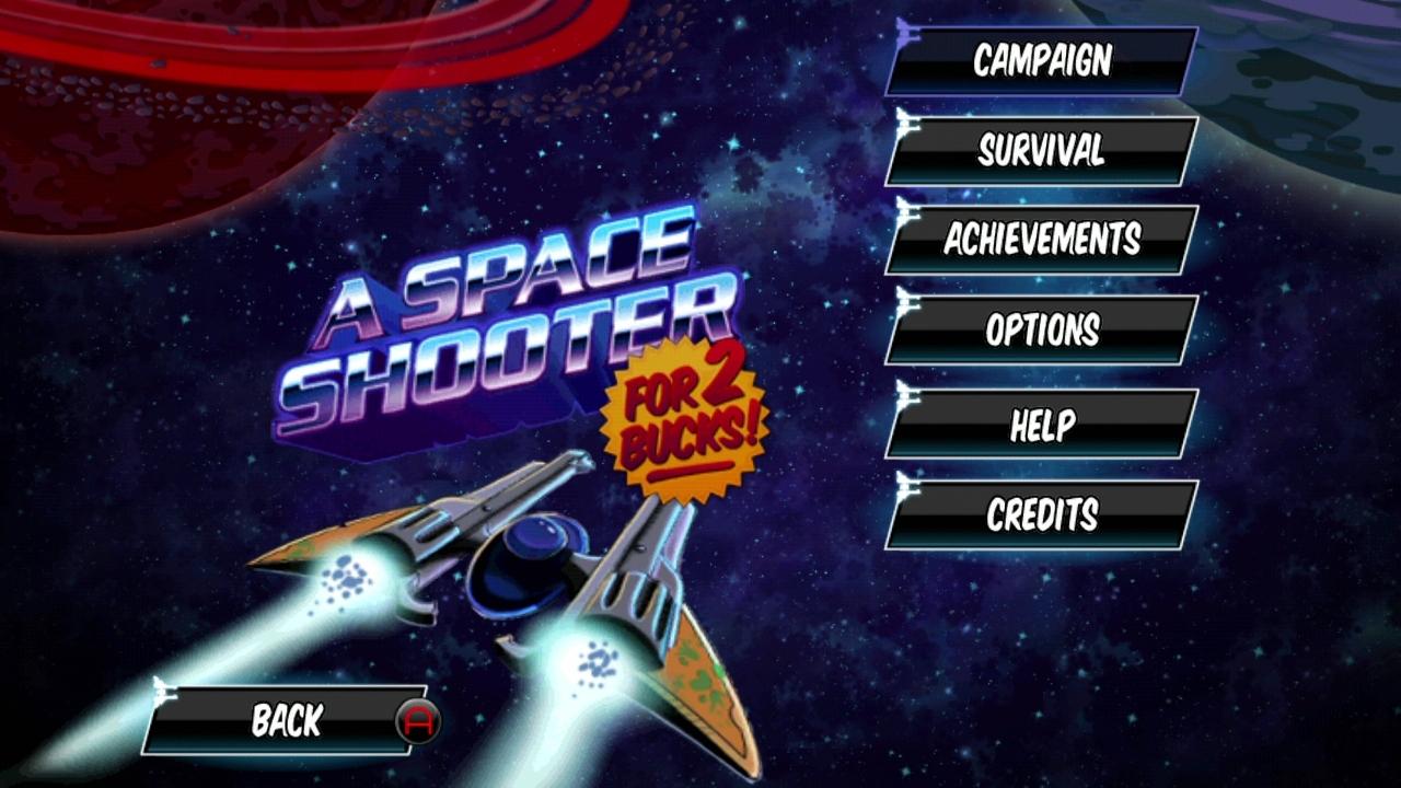 A Space Shooter For 2 Bucks screenshot