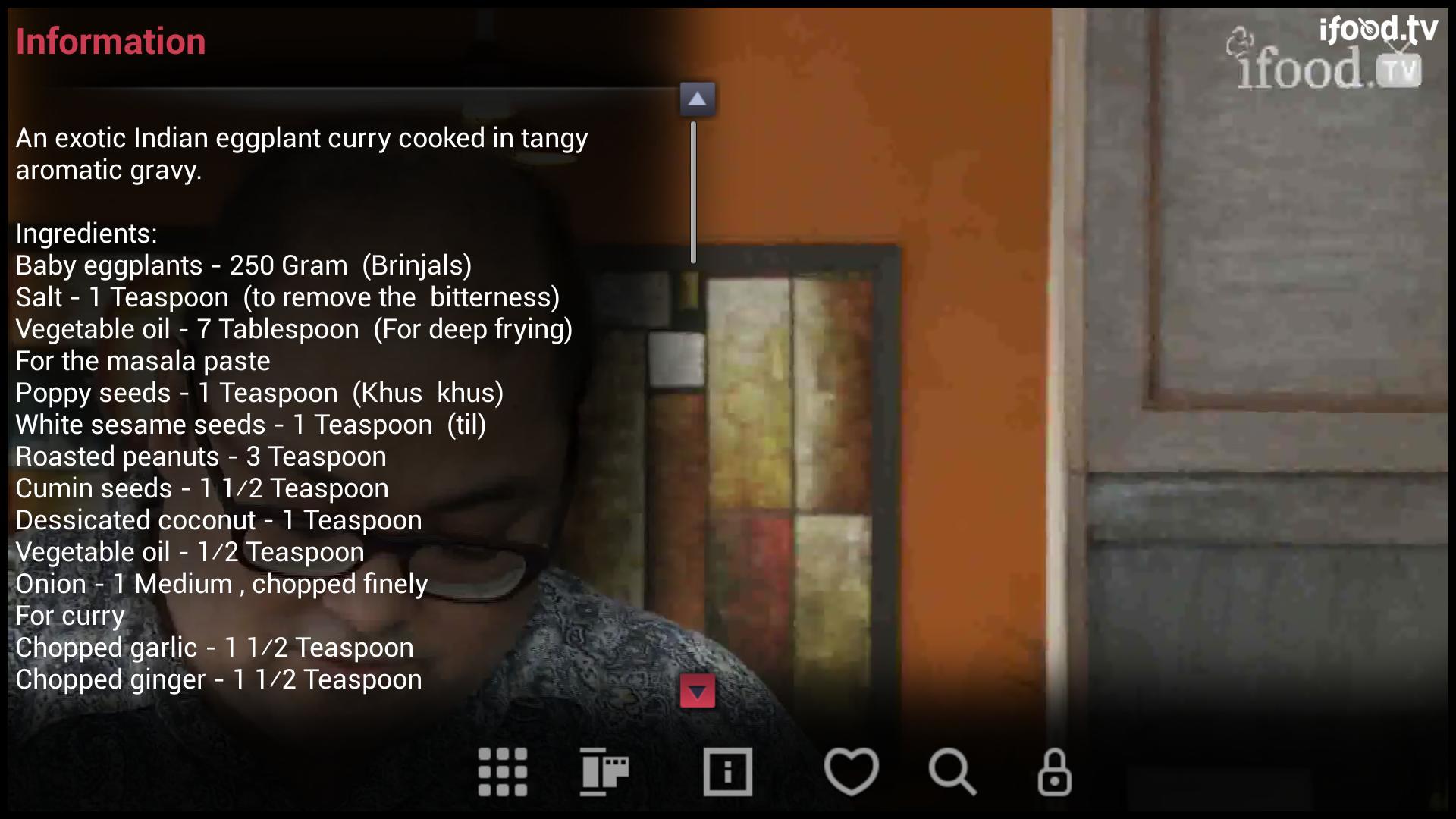 iFood.tv screenshot
