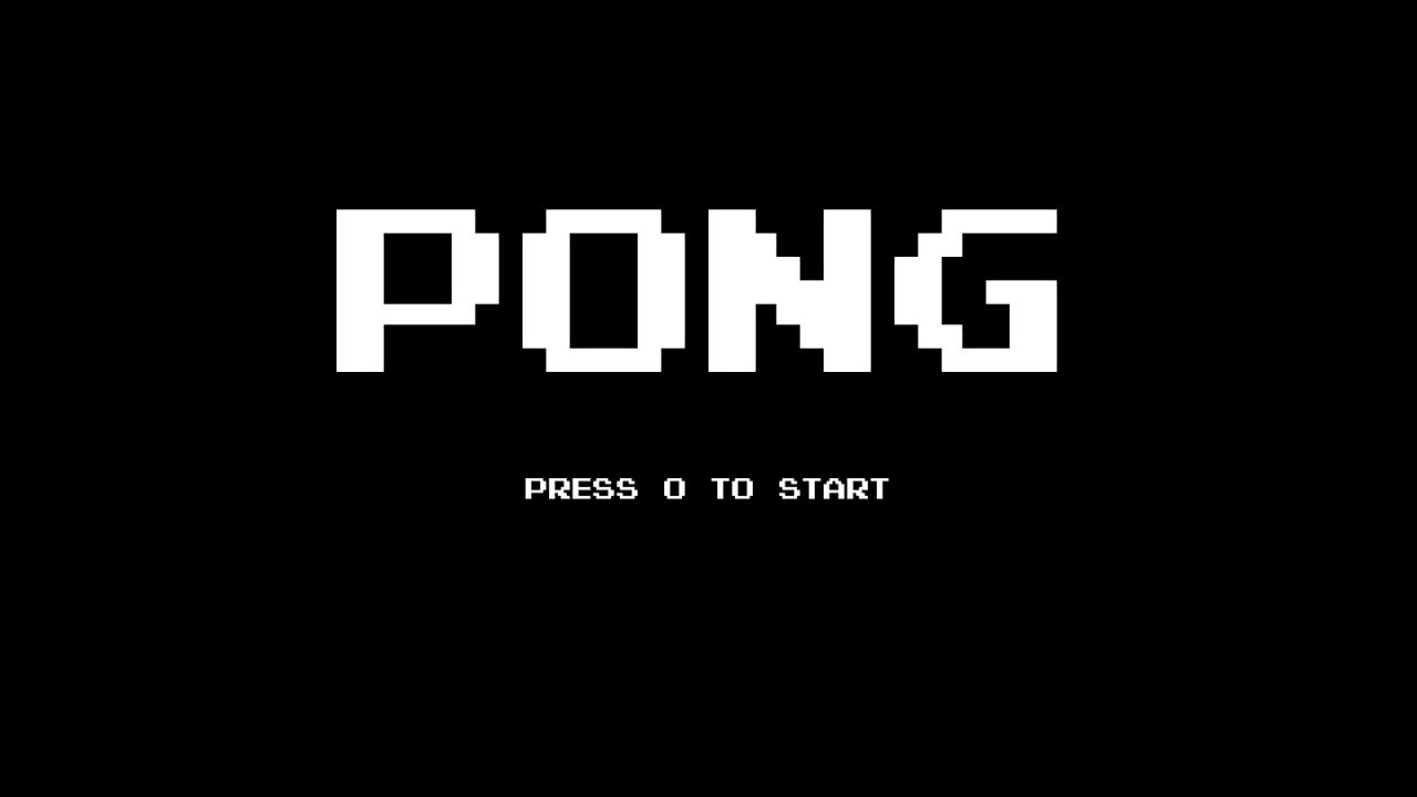 Retro Pong screenshot