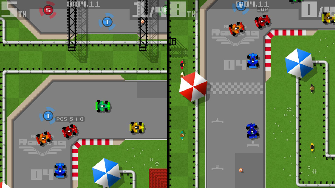 Retro Racing: Cortex Edition screenshot