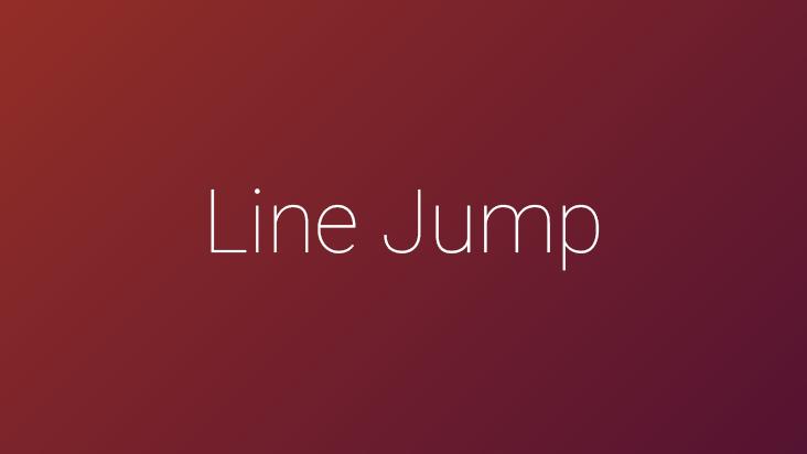 Line Jump