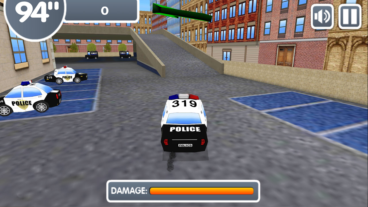 Police Cars Parking screenshot