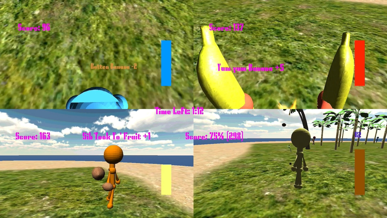 Coconuts versus Bananas: The Invasion of Carl CocoPalm screenshot