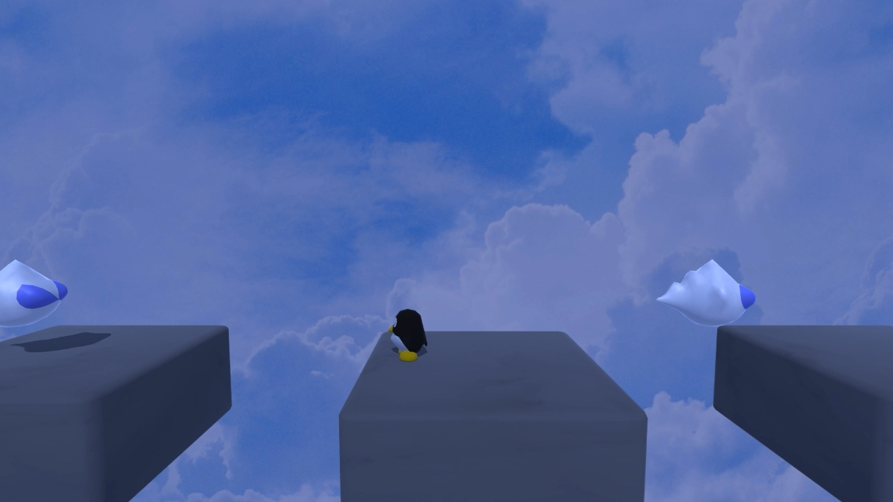 Tux Adventure screenshot