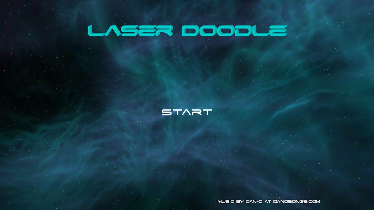 LaserDoodle screenshot