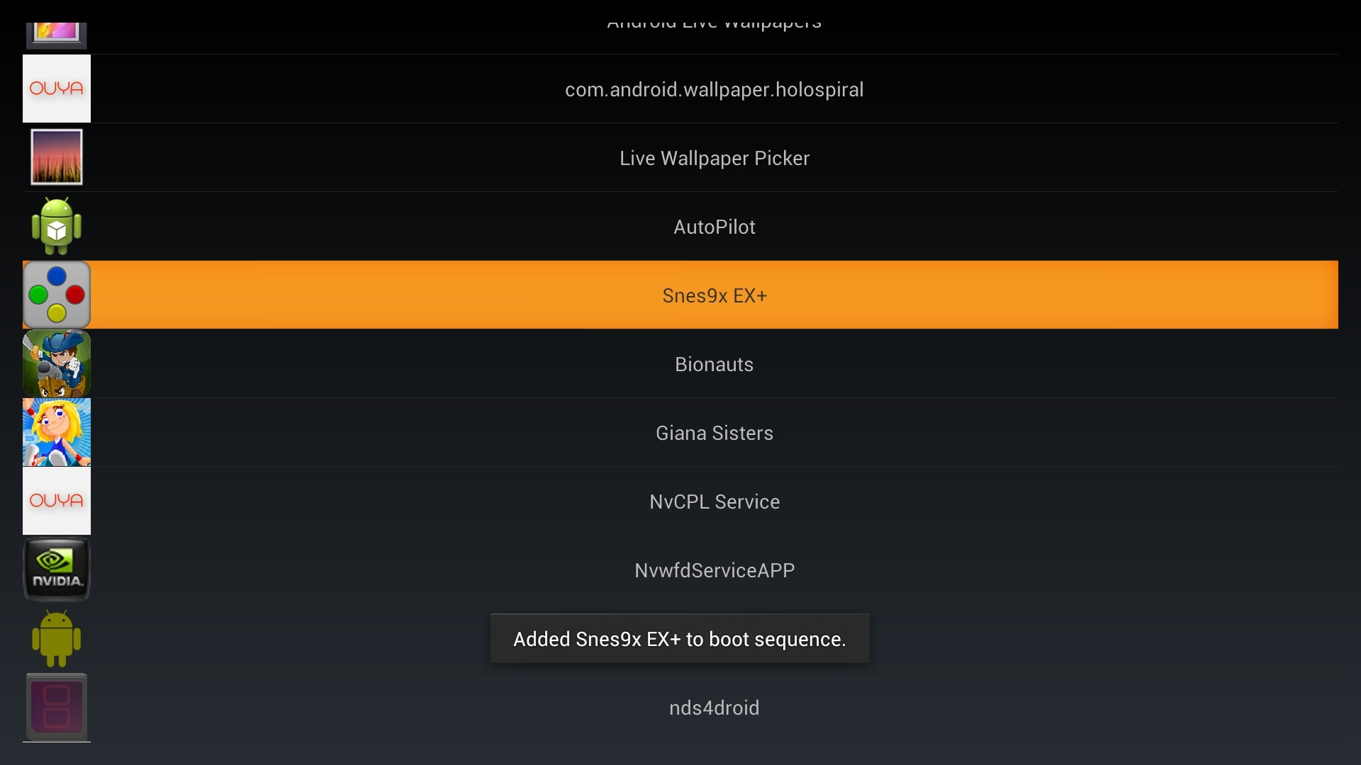 AutoPilot screenshot