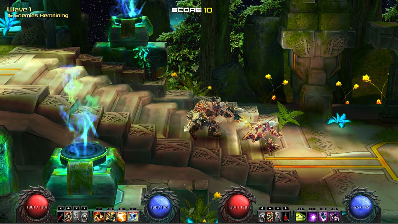 ChronoBlade Demo screenshot