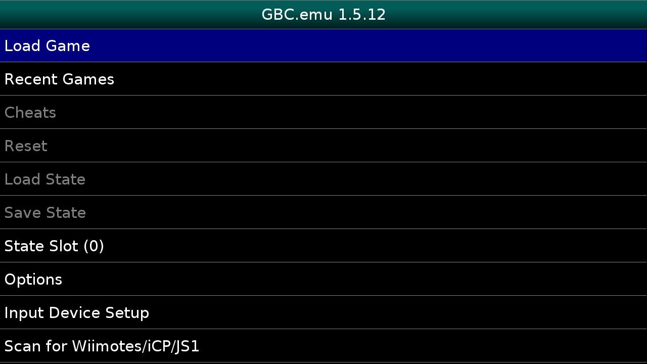 GBC.emu screenshot