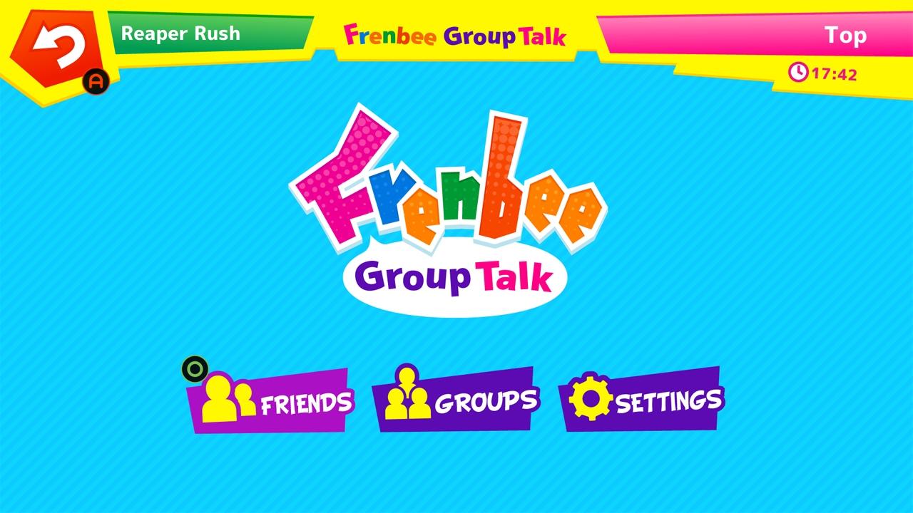 Frenbee GroupTalk screenshot