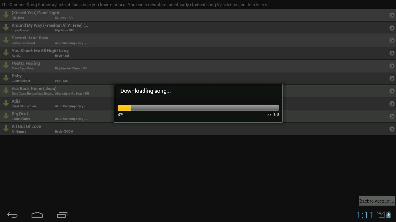 FourKaraoke for OUYA screenshot