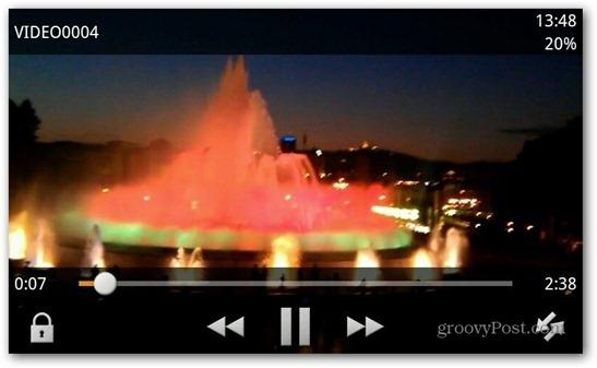 VLC Media Player For OUYA screenshot