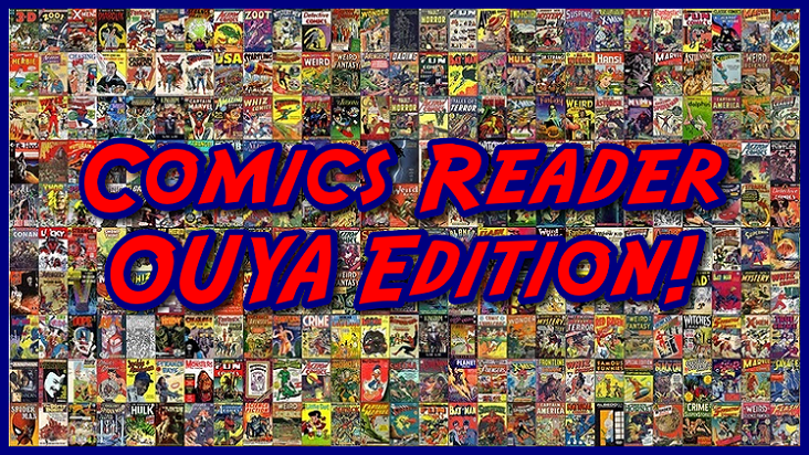 Comics Reader OUYA Edition!