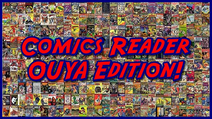 Comics Reader OUYA Edition!
