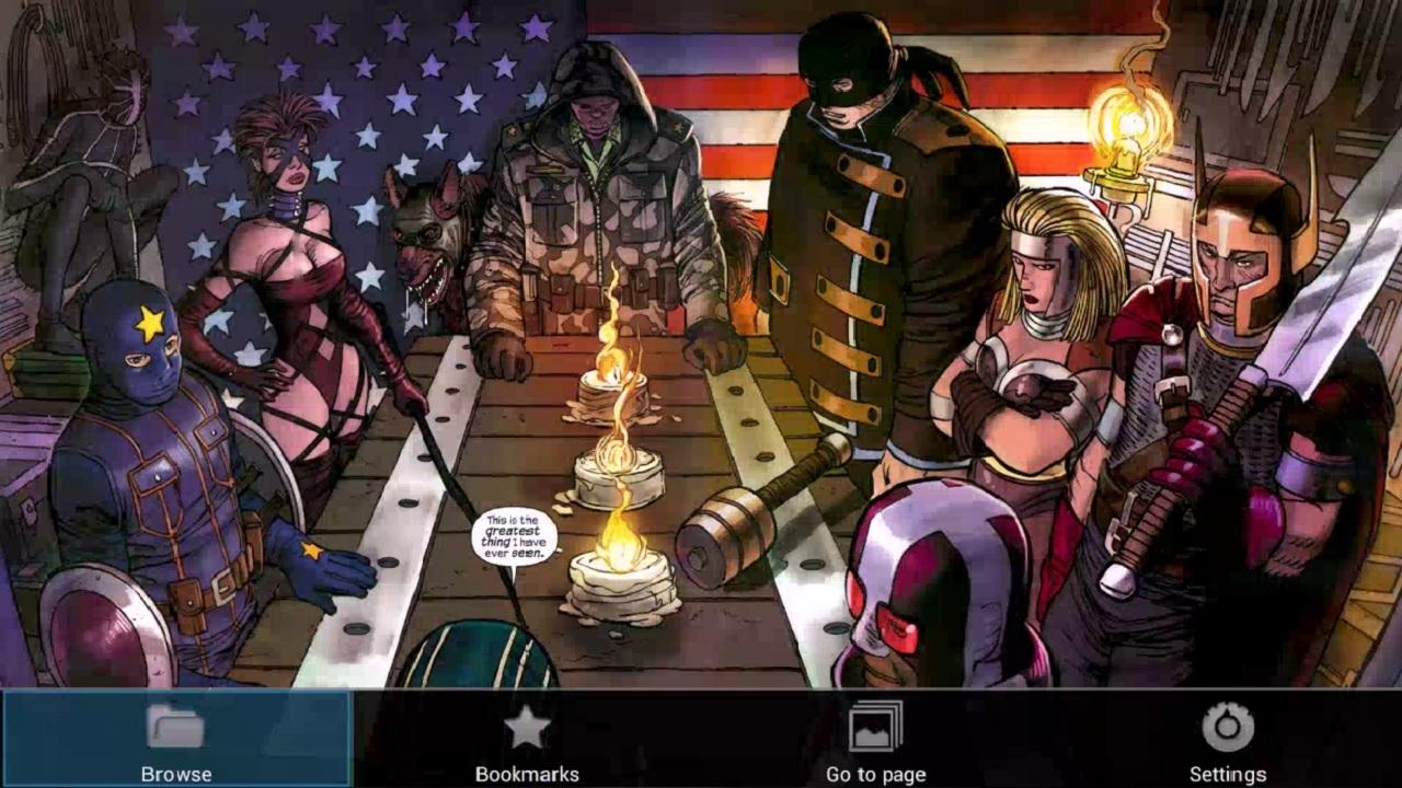 Comics Reader OUYA Edition! screenshot