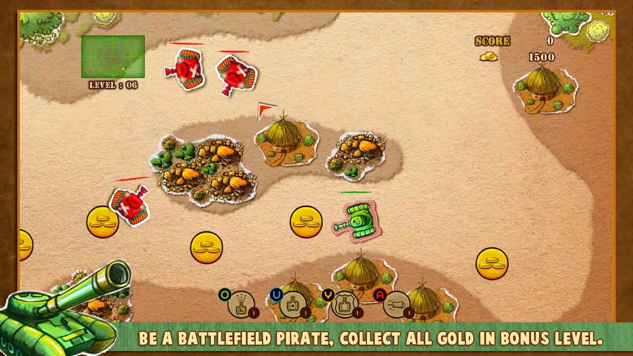 Doodle Tank Battle screenshot