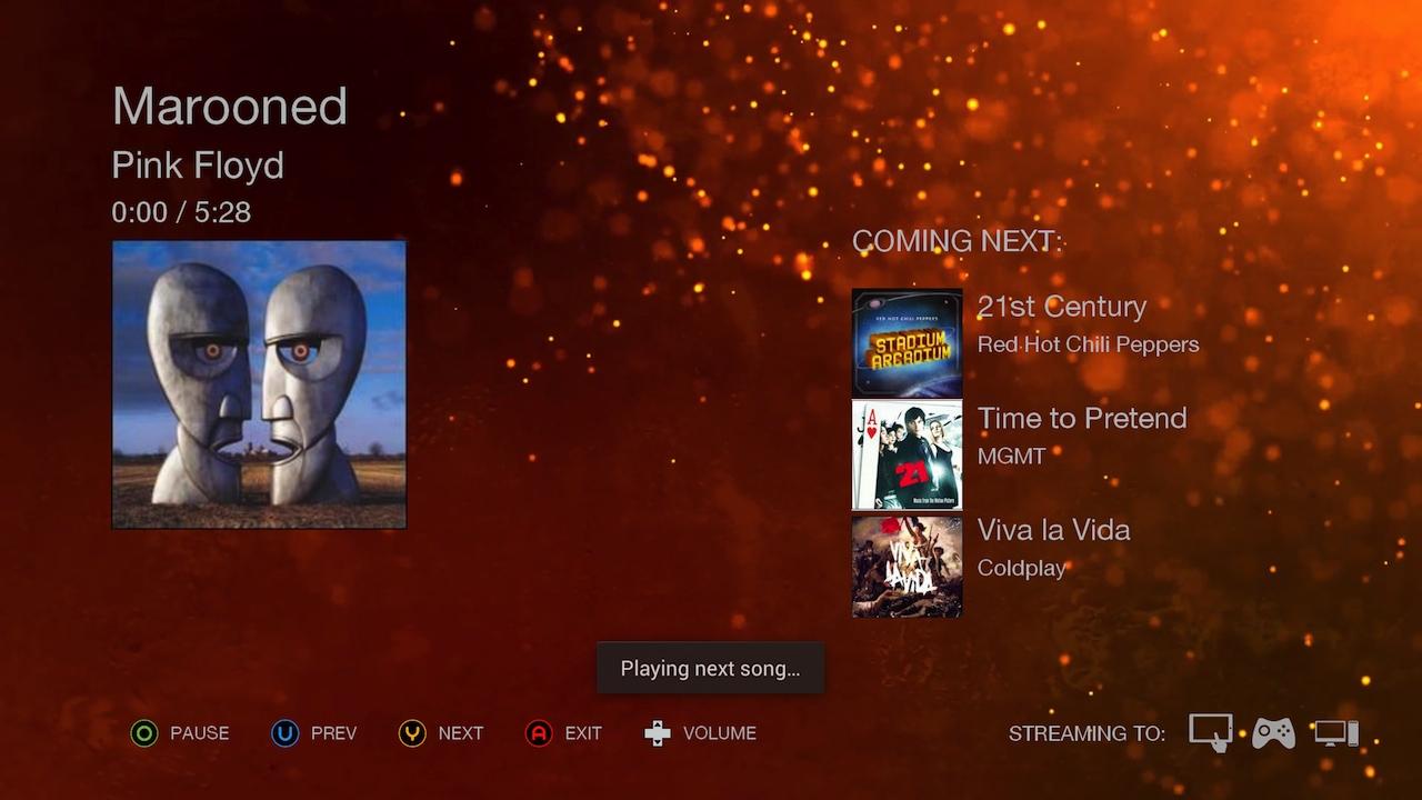 OnAir Player screenshot