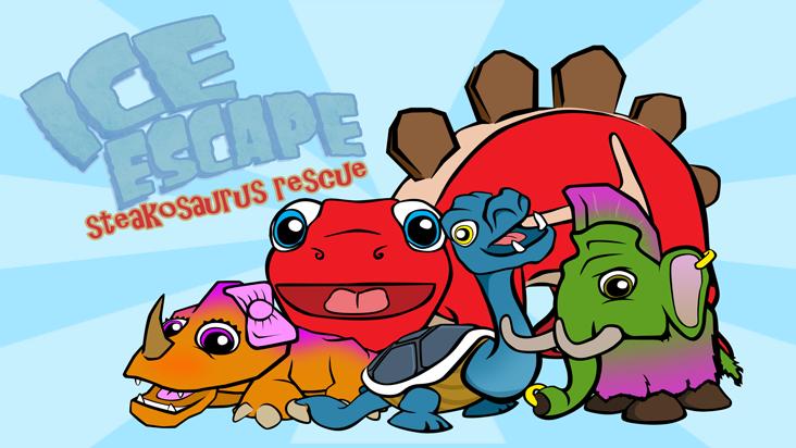 Ice Escape: Steakosaurus Rescue