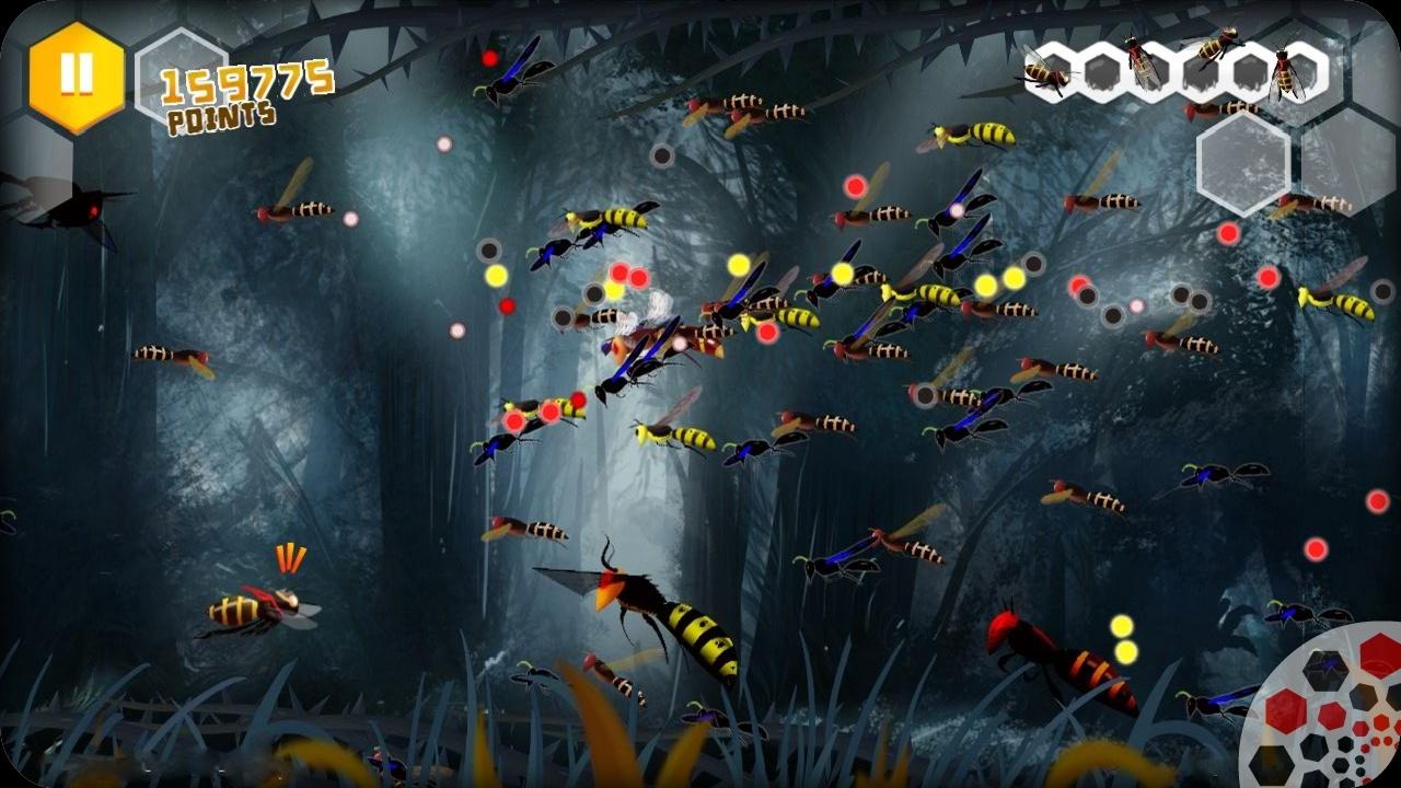 Beekyr: Eco shoot em up screenshot