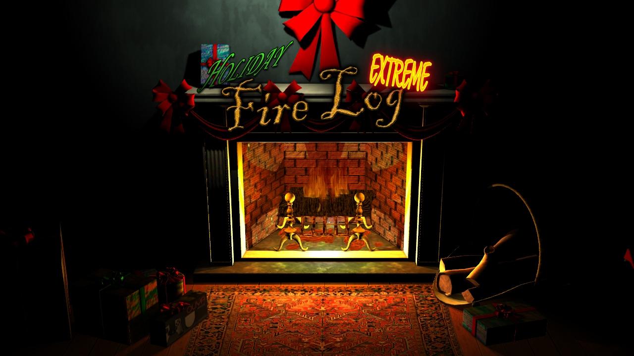 Holiday Fire Log Extreme screenshot