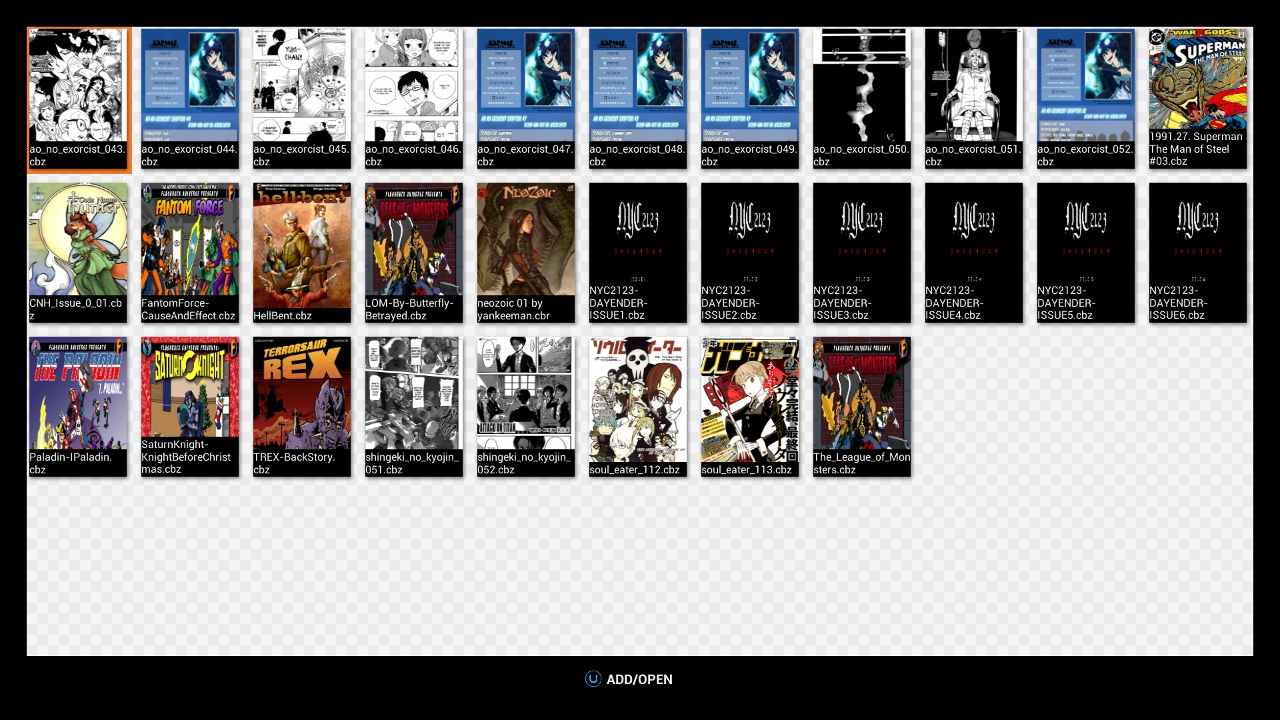Comic/Manga Reader screenshot
