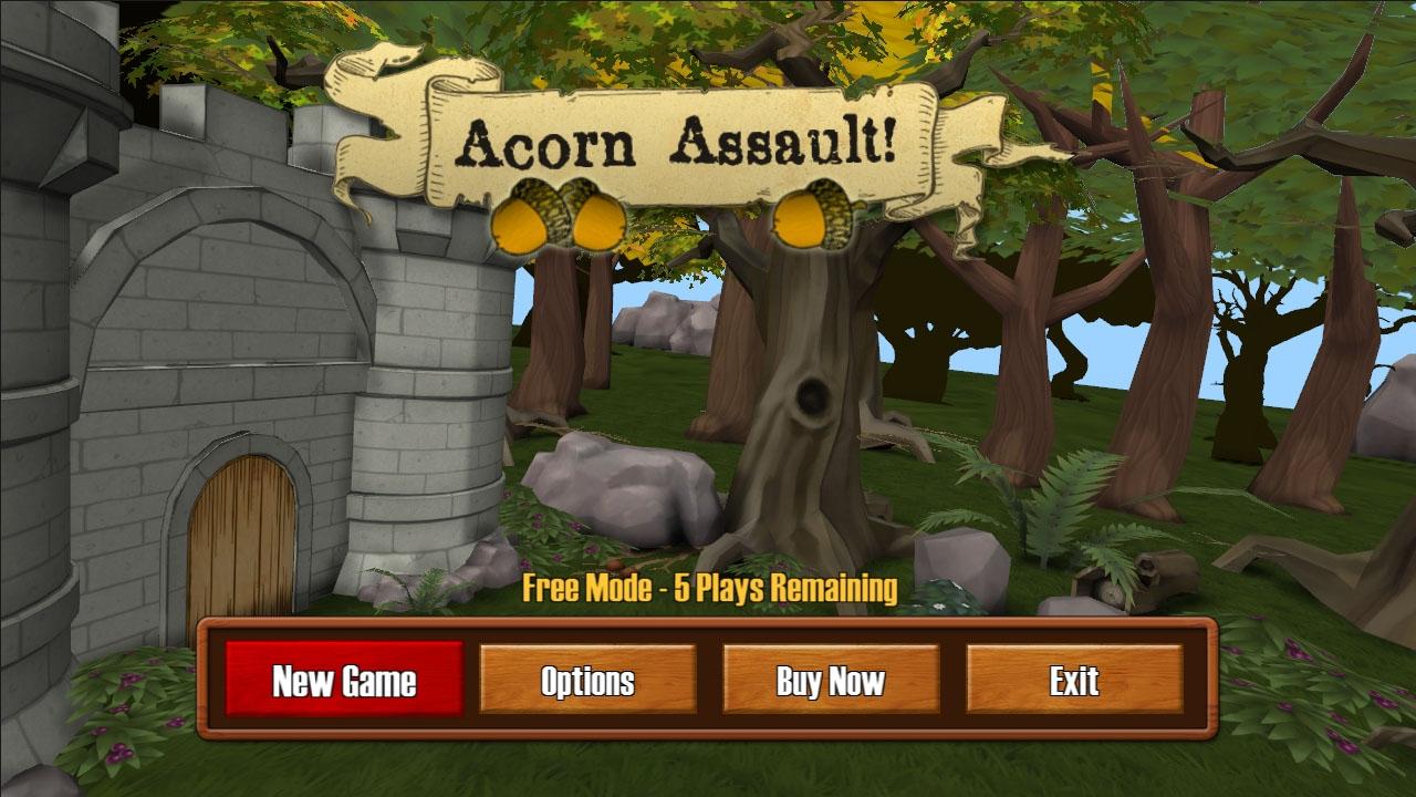 Acorn Assault screenshot