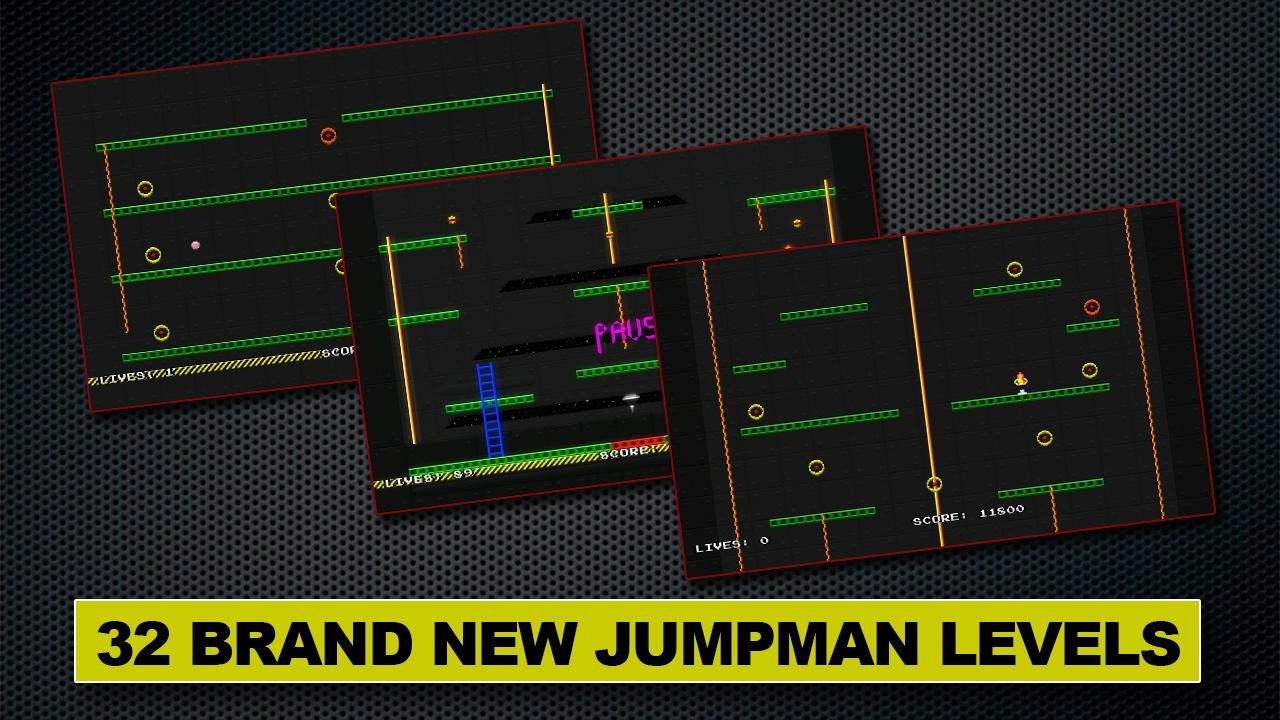 Jumpman Forever screenshot