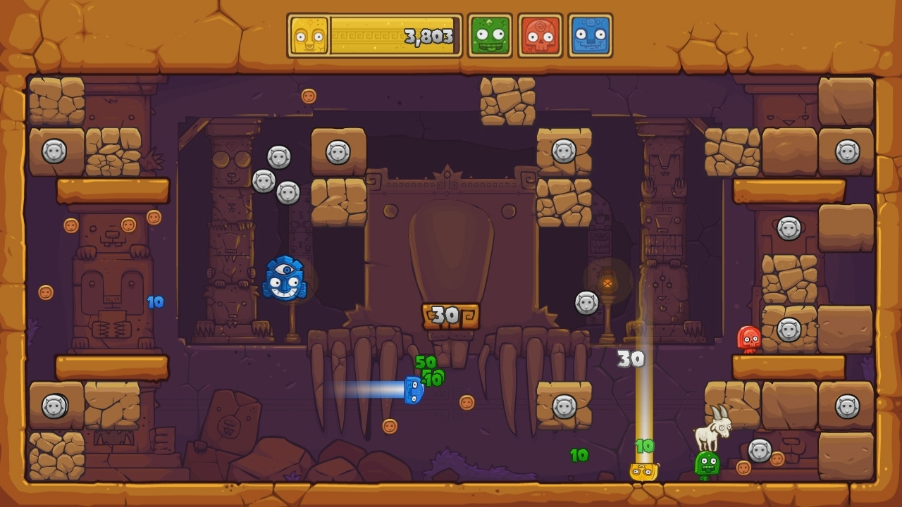 Toto Temple Deluxe: OUYA Edition screenshot