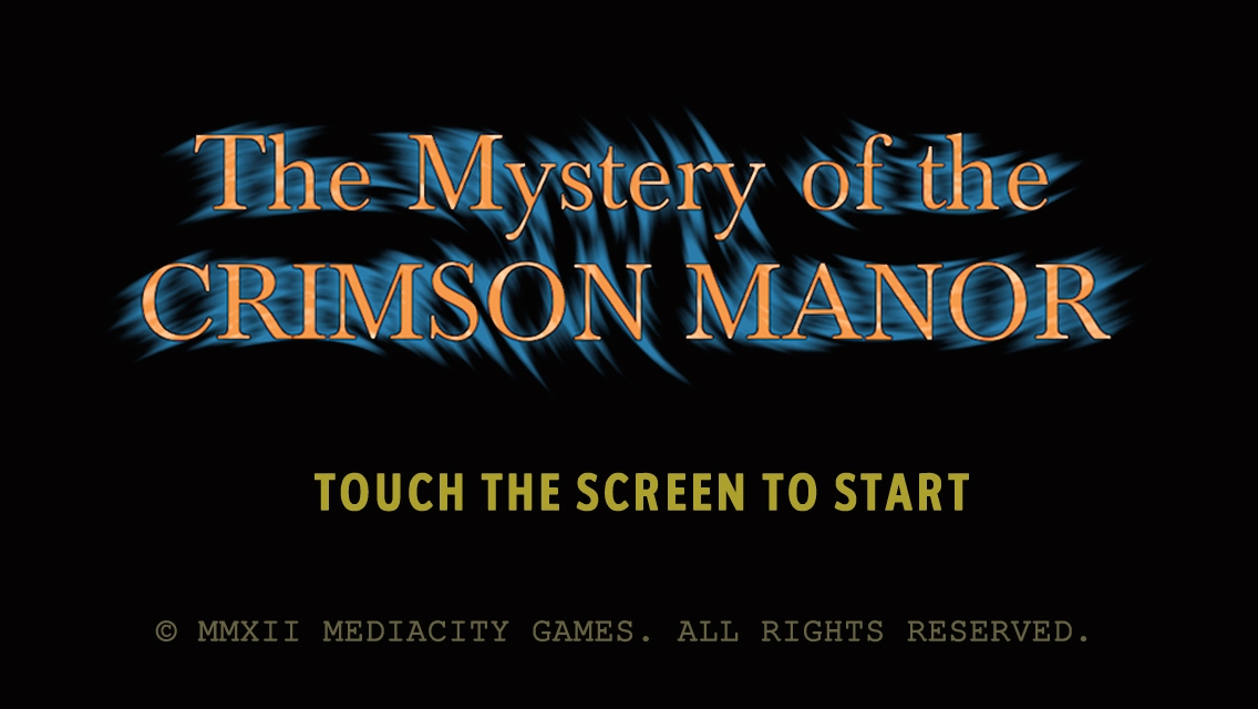 The Mystery of Crimson Manor screenshot