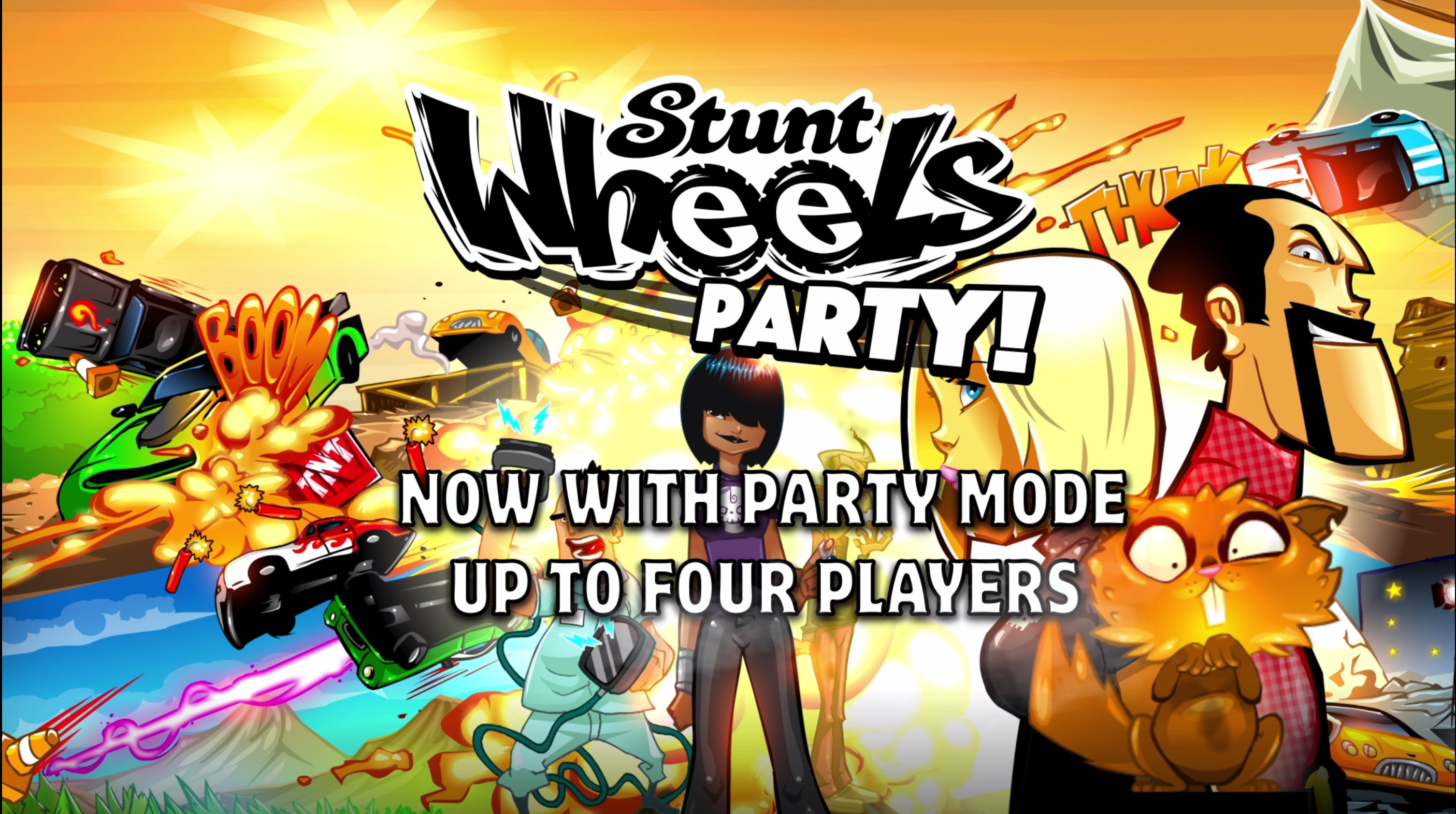 Stunt Wheels Party! screenshot