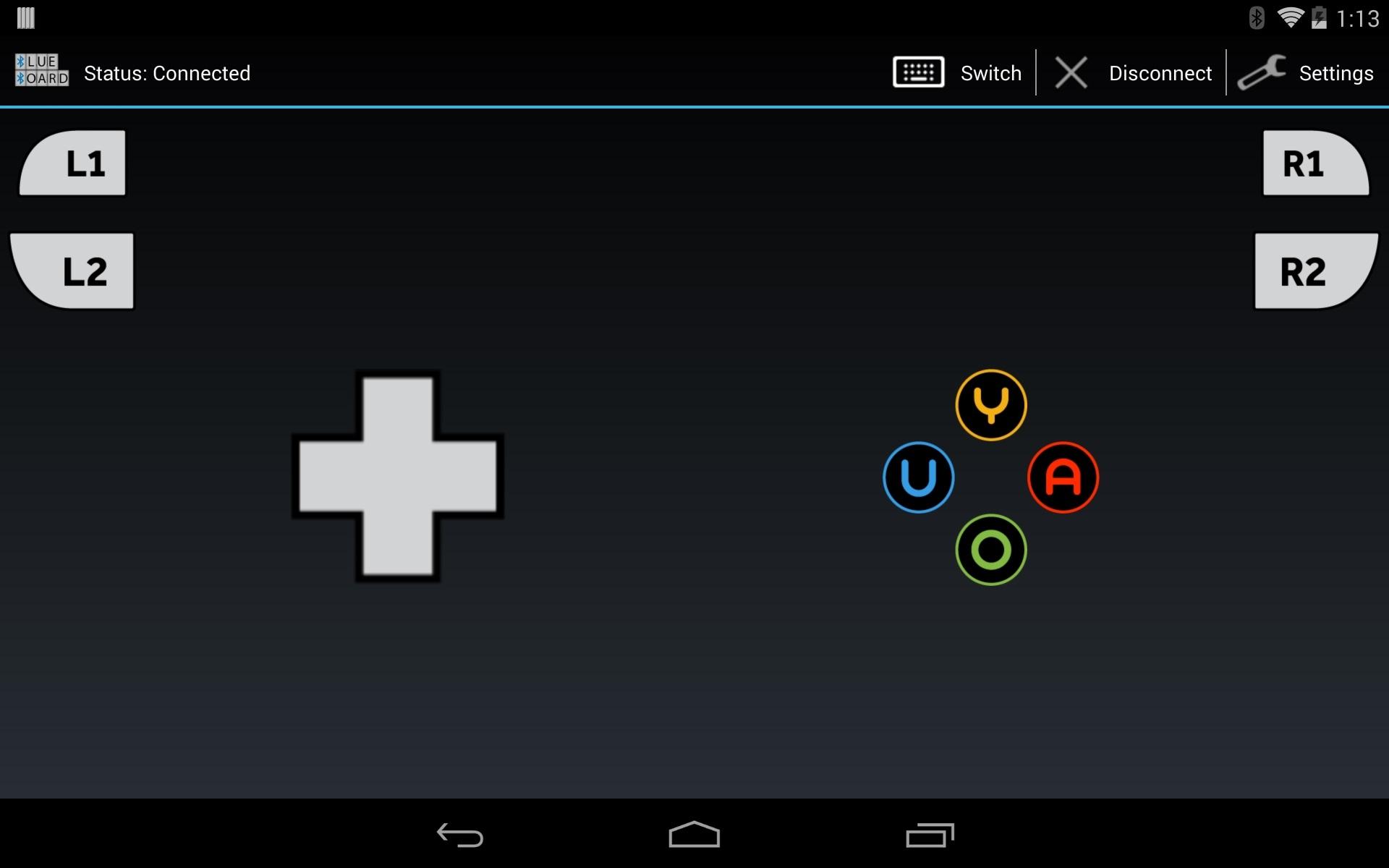Blue Board screenshot