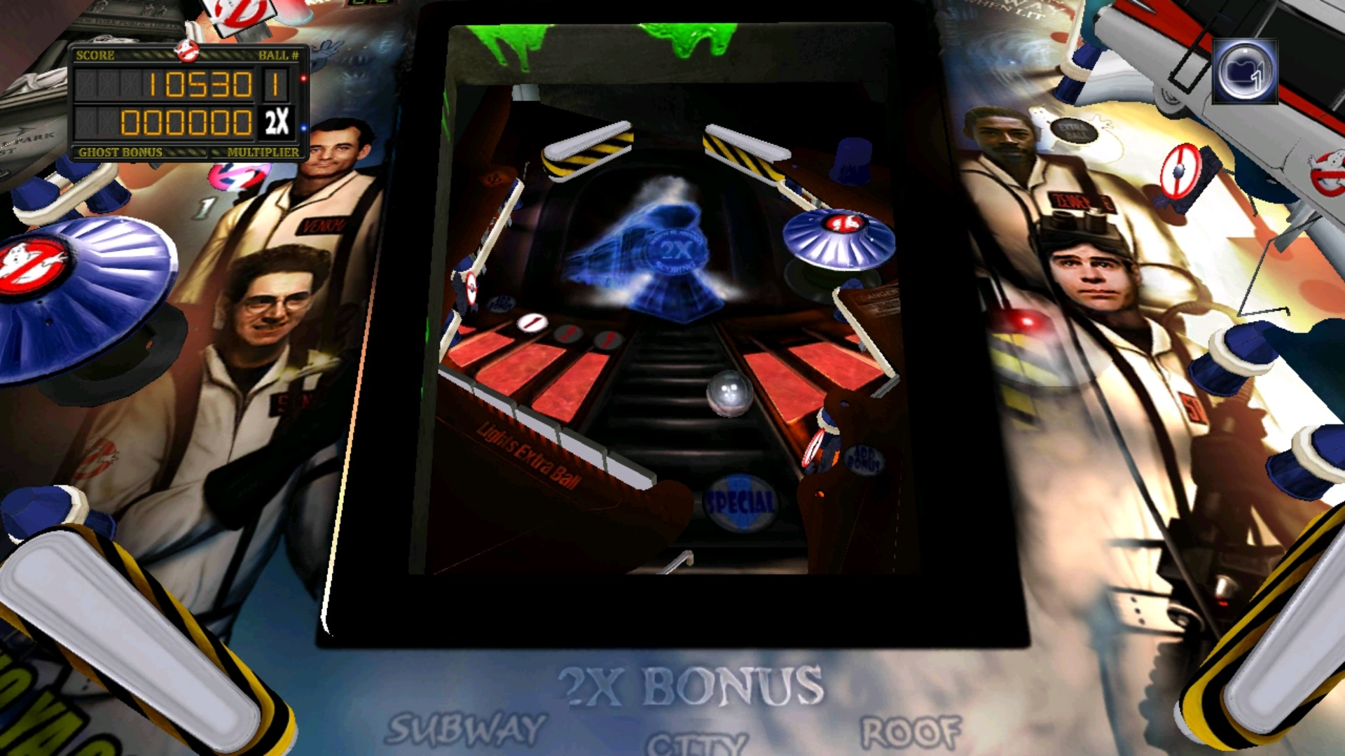 Ghostbusters Pinball screenshot